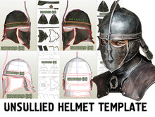 Load image into Gallery viewer, unsullied helmet pepakura