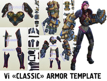 Load image into Gallery viewer, vi armor template
