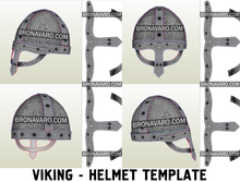 Load image into Gallery viewer, Viking Helmet Pepakura