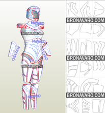 Load image into Gallery viewer, Wonder Woman 1984 Armor Pepakura