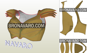 Wonder Woman Armor Pepakura Template