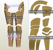 Load image into Gallery viewer, Wonder Woman Golden Eagle Legs Cosplay Pattern