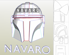 Load image into Gallery viewer, mandalorian pepakura