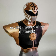 Load image into Gallery viewer, white ranger shield diy