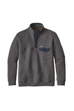 Patagonia Men's Cotton Quilt Snap-T Pullover Forge Grey