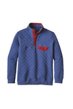 Patagonia Men's Cotton Quilt Snap-T Pullover Harvest Moon Blue