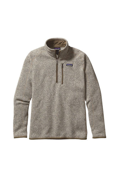 Patagonia Men's Better Sweater 1/4 Zip Bleached Stone