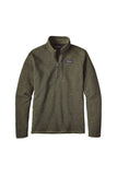 Patagonia Men's Better Sweater 1/4 Zip Industrial Green