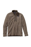 Patagonia Men's Better Sweater 1/4 Zip Pale Khaki