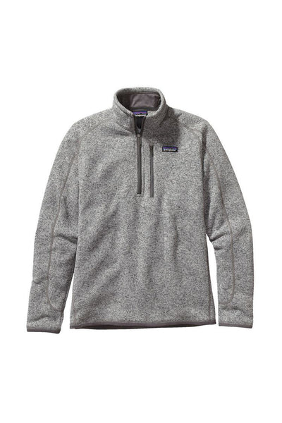 Patagonia Men's Better Sweater 1/4 Zip Stonewash