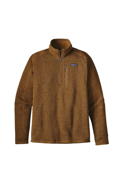 Patagonia Men's Better Sweater 1/4 Zip Tapenade