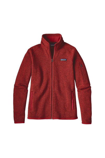 Patagonia Women's Better Sweater Jacket Ramble Red