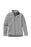 Patagonia Women's Better Sweater 1/4 Zip Birch White