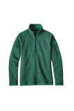 Patagonia Women's Better Sweater 1/4 Zip Impact Green