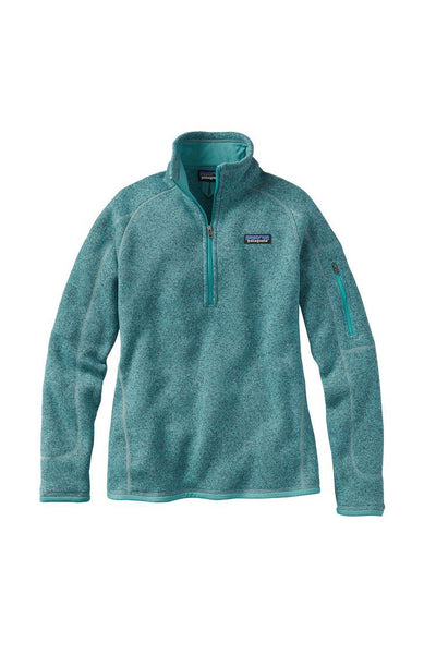 Patagonia Women's Better Sweater 1/4 Zip Mogul Blue