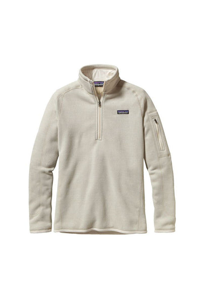 Patagonia Women's Better Sweater 1/4 Zip Raw Linen