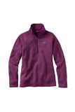 Patagonia Women's Better Sweater 1/4 Zip Violet Red