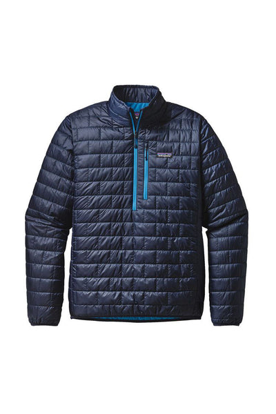 Patagonia Men's Nano Puff Pullover Navy Blue