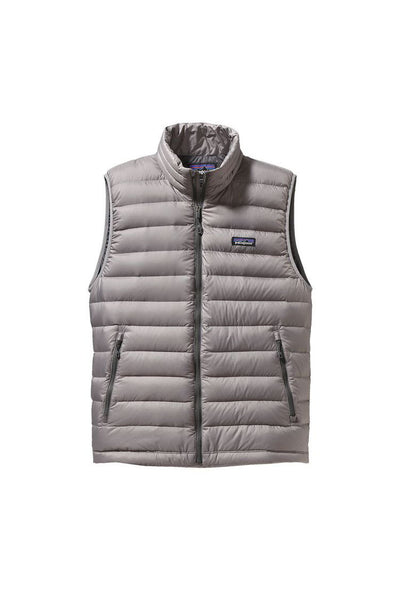 Patagonia Men's Down Sweater Vest Feather Grey
