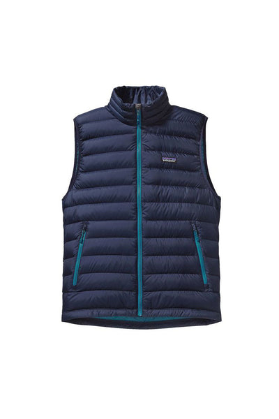 Patagonia Men's Down Sweater Vest Navy Blue