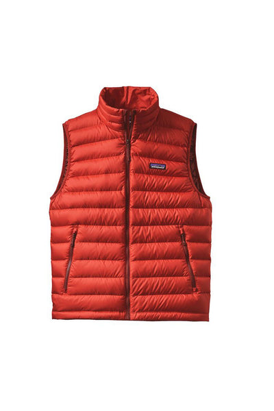 Patagonia Men's Down Sweater Vest Ramble Red
