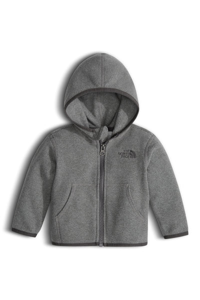 The North Face Infant Glacier Full Zip Hoodie TNF Medium Grey Heather
