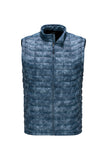 The North Face Men's Thermoball Vest Shady Blue Process Print