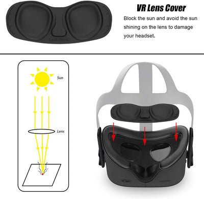 Hard VR Lens Cover for Oculus Quest