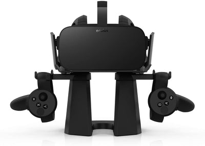 Black VR Stand for Oculus Headsets