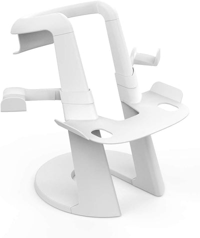 White VR Stand for Oculus Headsets