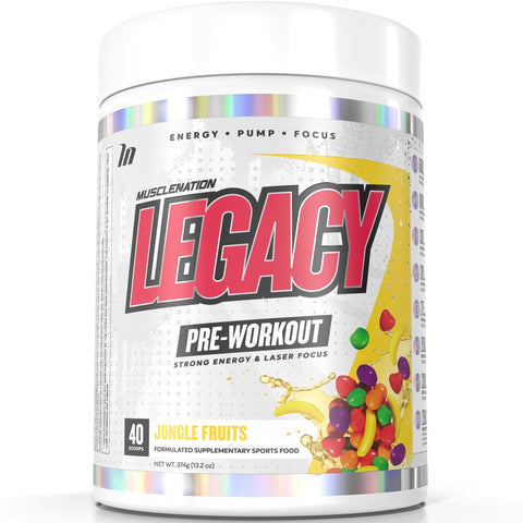 Legacy Pre Workout 374g - Muscle Nation