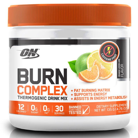 Caffeine Free Burn Complex Mix - 135g - ON