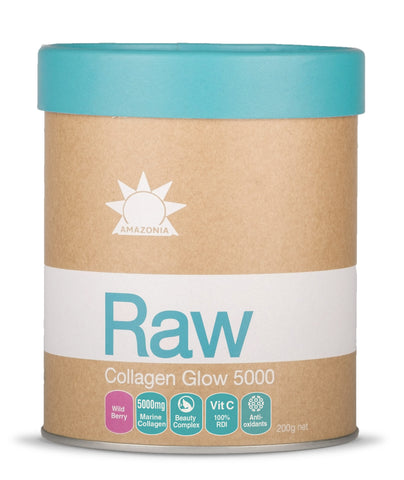 Raw Collagen Glow 5000 Wild Berry - 200g