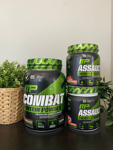 Muscle Pharm - Protein + Pre-Workout Bundle