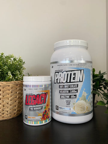 Muscle Nation - Protein + Pre-Workout Bundle