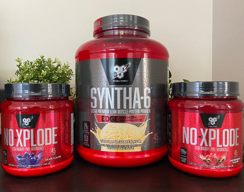 BSN - Protein + Pre-Workout Bundle