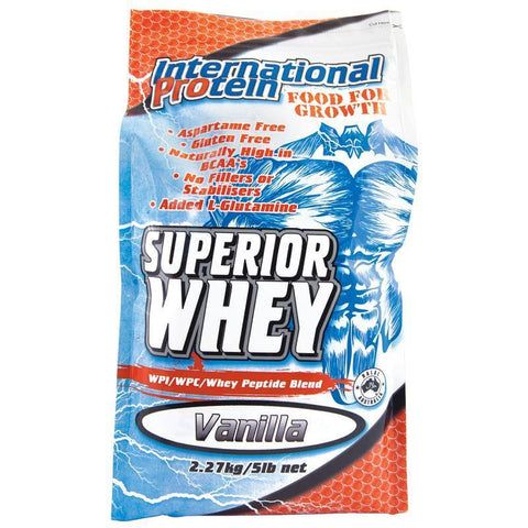 Superior Whey - 2.27kg International Protein