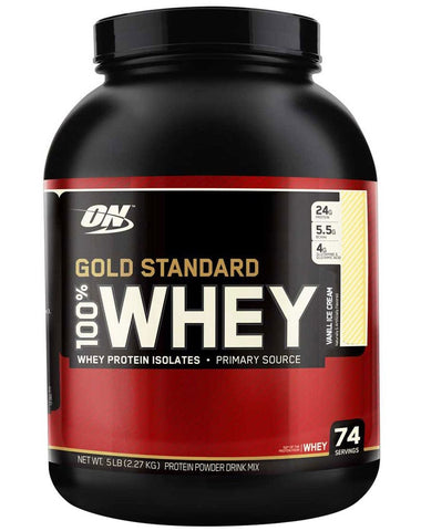 100% Whey Gold Standard - 2.27kg - ON