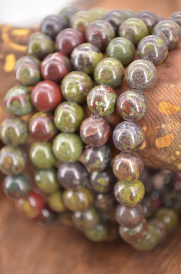 Dragon Blood Jasper Bracelets