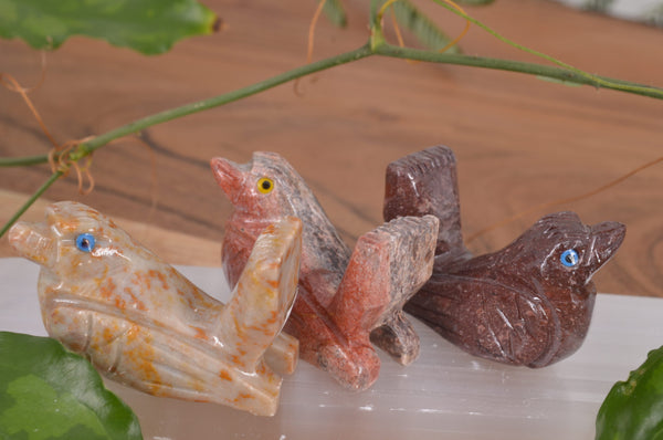 Bird Soapstone Steatite Carving for Broadening Horizons & Shamanic Guidance
