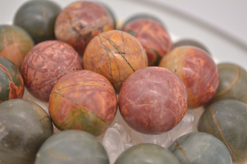 Cherry Creek Jasper Mini Spheres