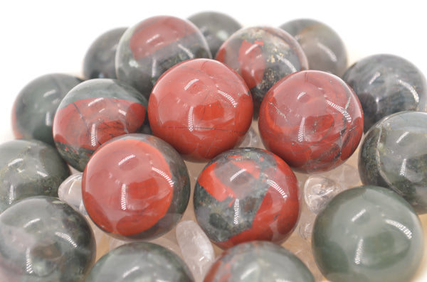 African Bloodstone Mini Spheres