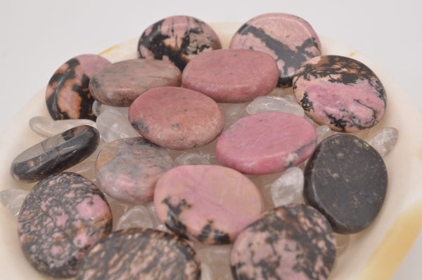 Rhodonite Coins