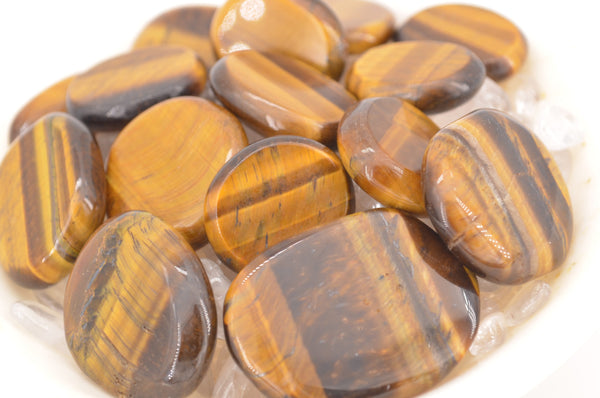 Tiger Eye Coins