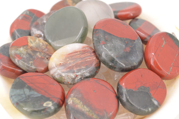 African Bloodstone Coins