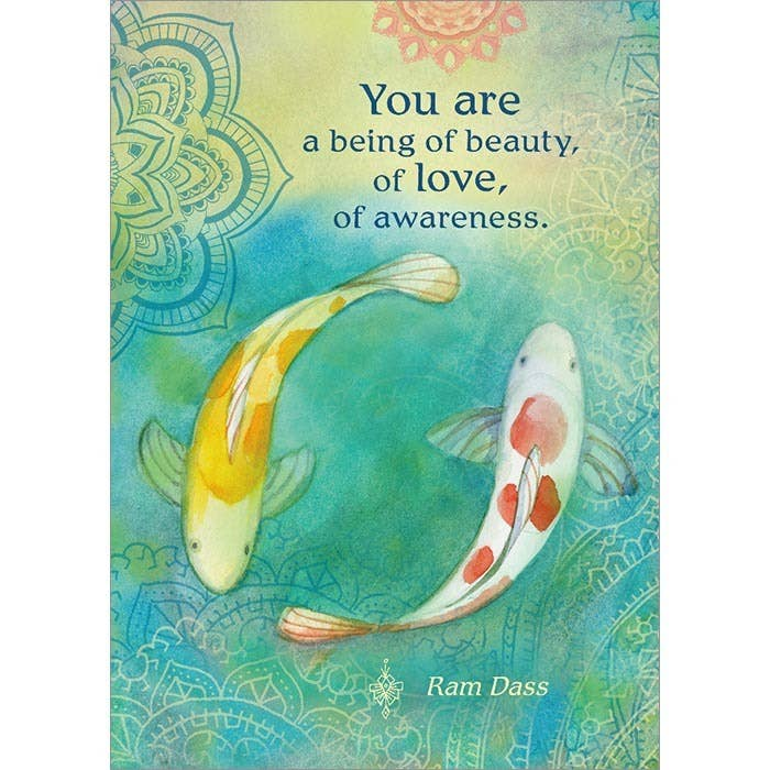 You Are a Being of Beauty Greeting Card