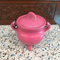 Cast Iron Cauldron - Pink