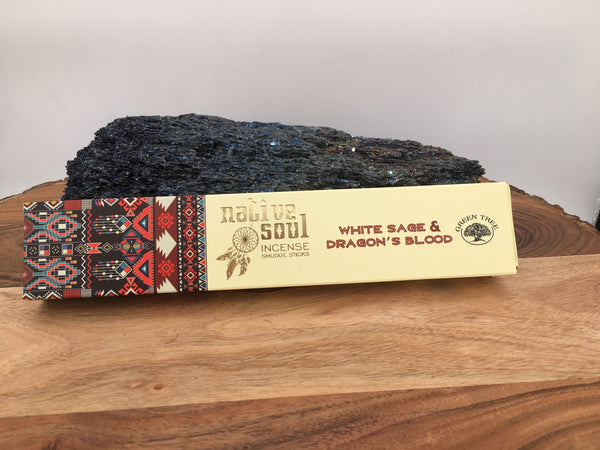 White Sage & Dragon's Blood Incense by Native Soul