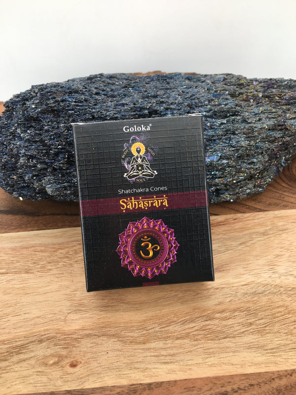 Crown Chakra Cone Incense