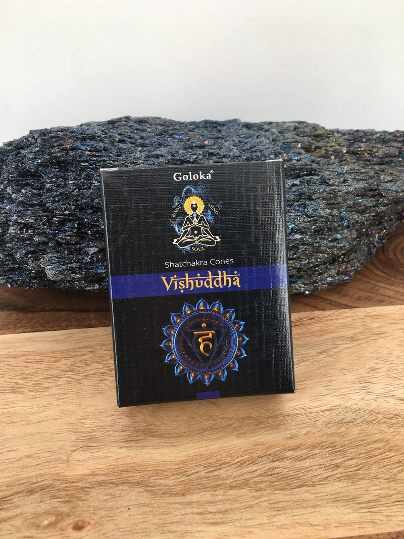 Throat Chakra Cone Incense